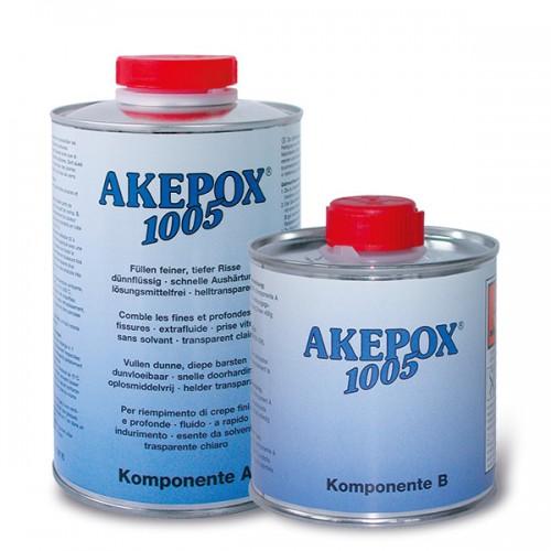 Клей эпоксидный прозрачный жидкий Akepox 1005